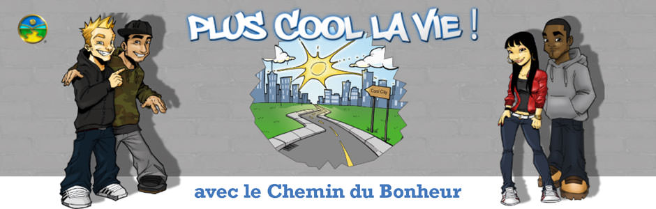 Plus cool la vie Logo